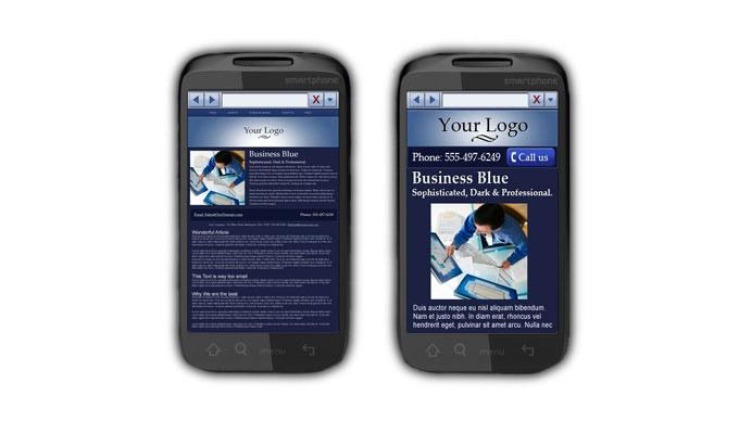 заказать правильный мобильный сайт