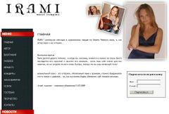 Создание сайта Музыкальная компания IRAMI