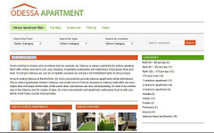 Создание сайта Odessa Apartment