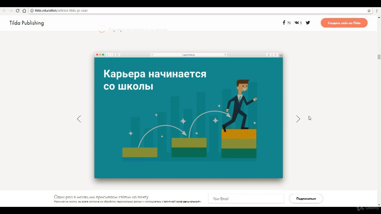 Создание сайтов Создание сайта без затрат на сервисе