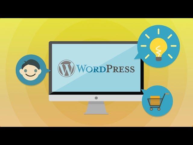 Создание сайтов Создаём сайт на Вордпресс за час