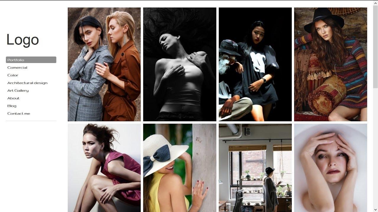 Создание сайтов Как создать красивый сайт на Вордпресс для фотографа или фото блога