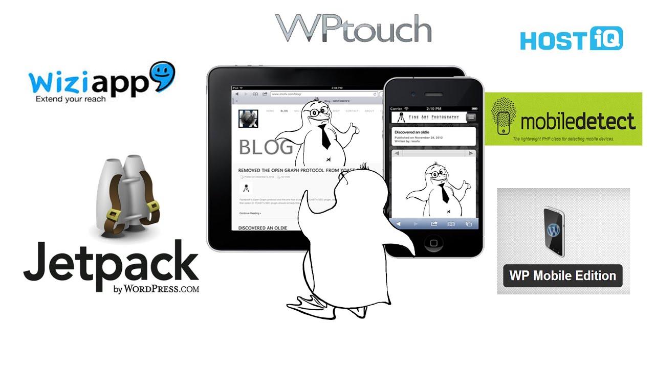 Создание сайтов Плагины для создания мобильной версии сайта на Вордпресс