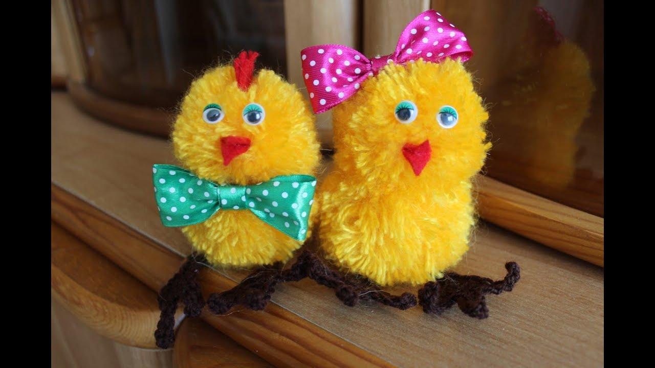Цыплята своими руками фото