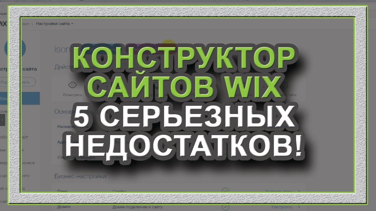 Создание сайтов Конструктор сайтов отстой Не советую Честный отзыв
