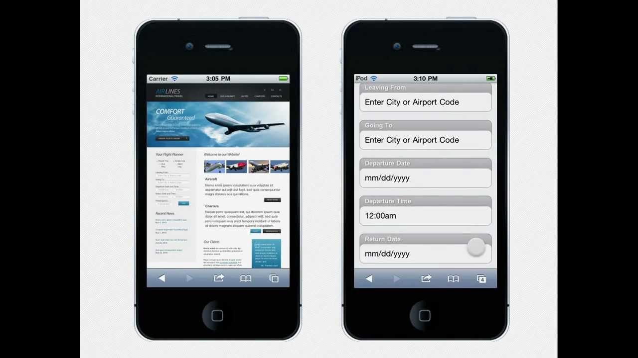 Создание сайтов Как сделать мобильную версию сайта