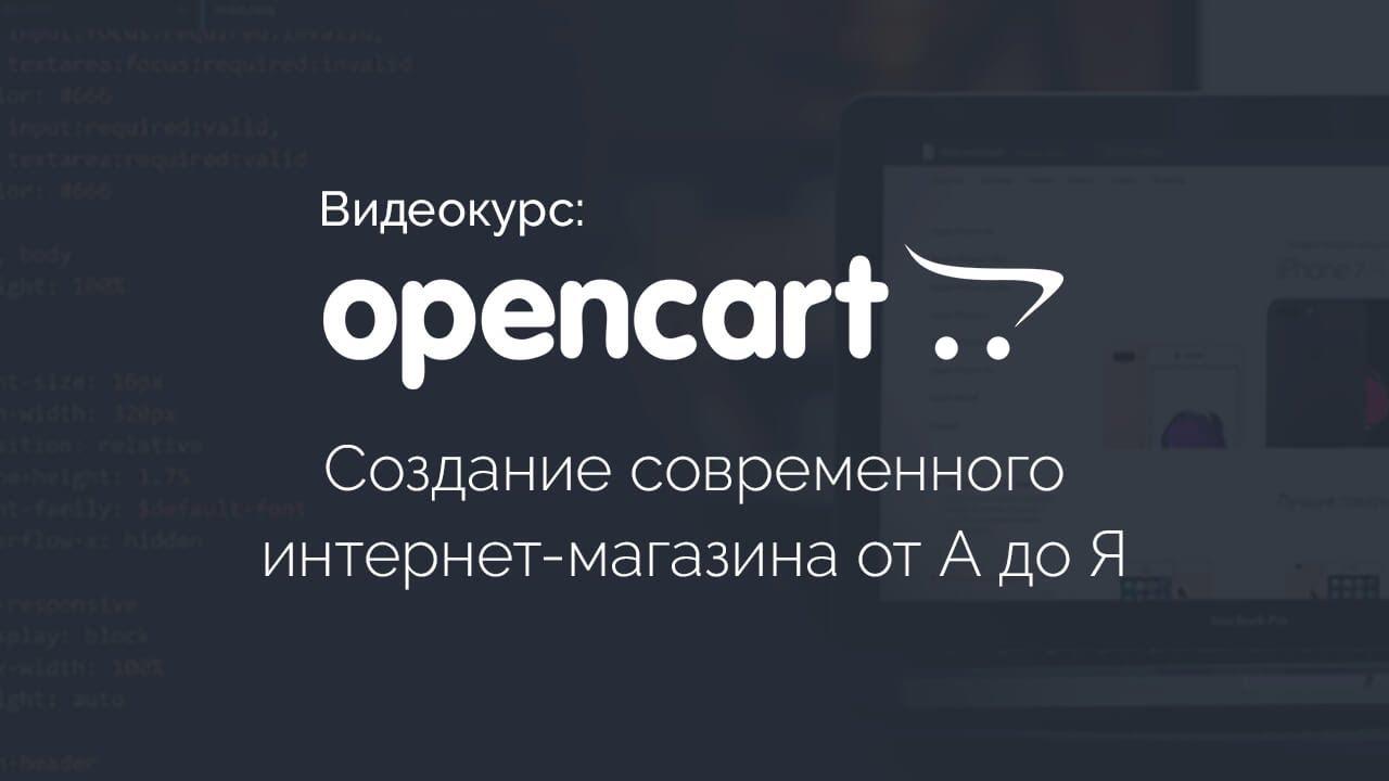 Создание современного интернет-магазина от А до Я