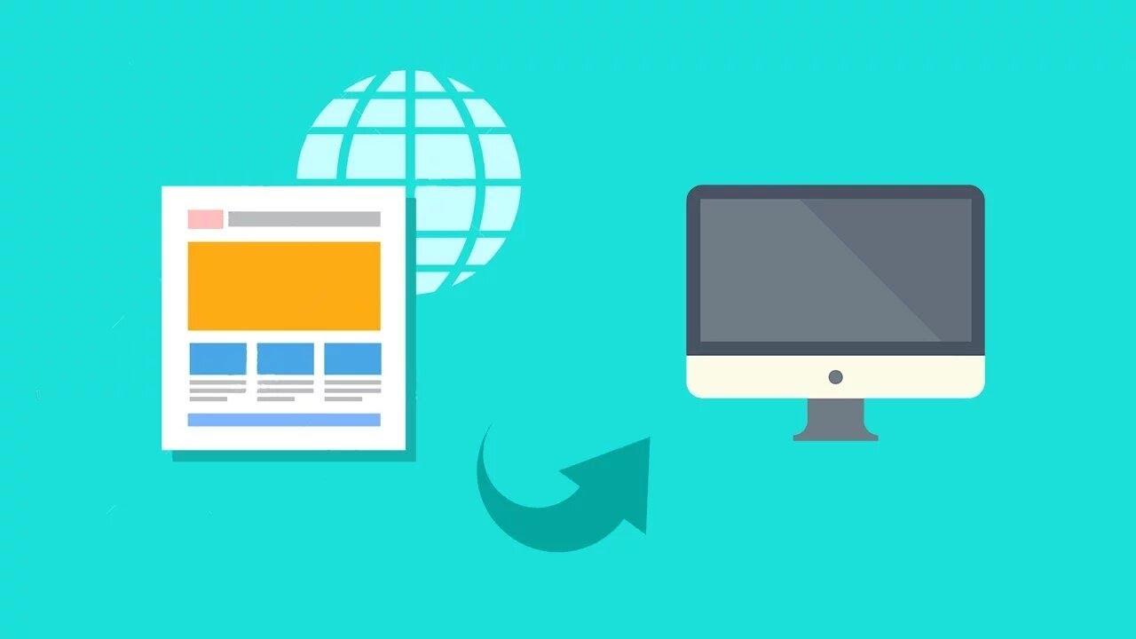 Создание сайтов Как скачать сайт целиком с картинками из и шрифтами