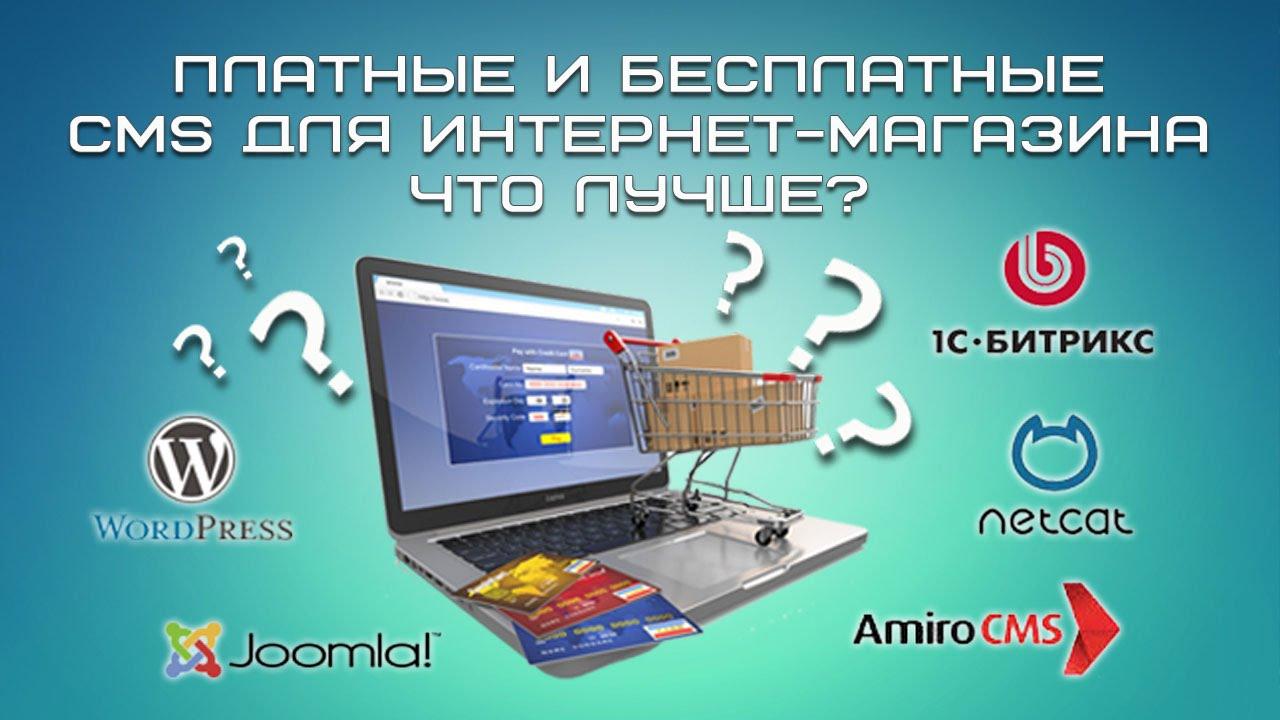 Платные и бесплатные для интернет-магазина Что лучше
