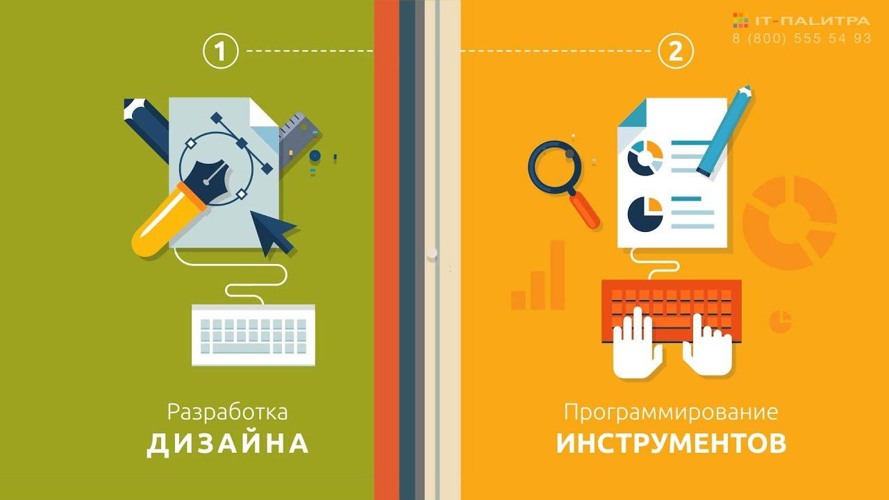 Создание сайтов -Палитра