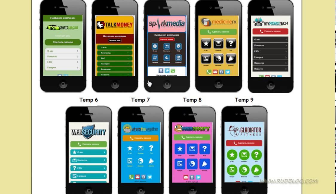 Как быстро создать мобильную версию сайта