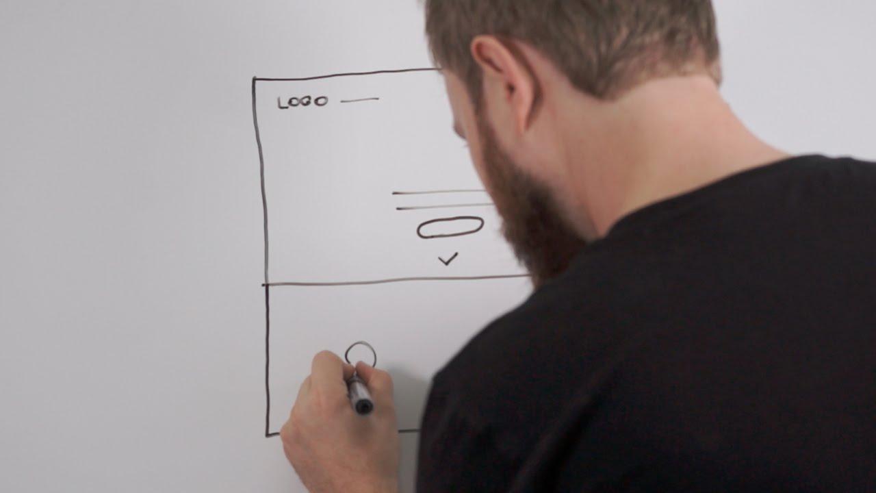 Реклама веб студии Лучей в стиле