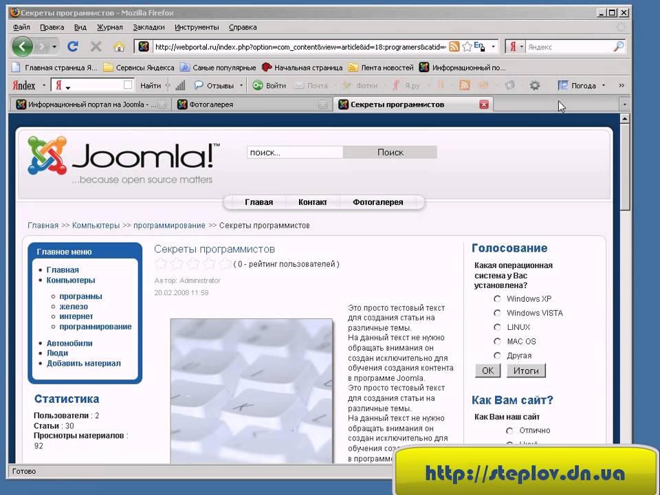 Джумла Поисковая оптимизация сайта