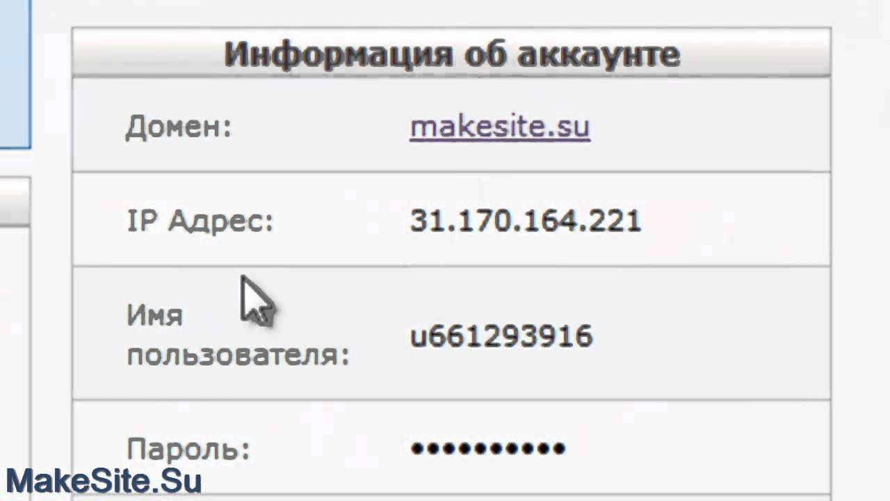 Создание сайта с доменом второго уровня