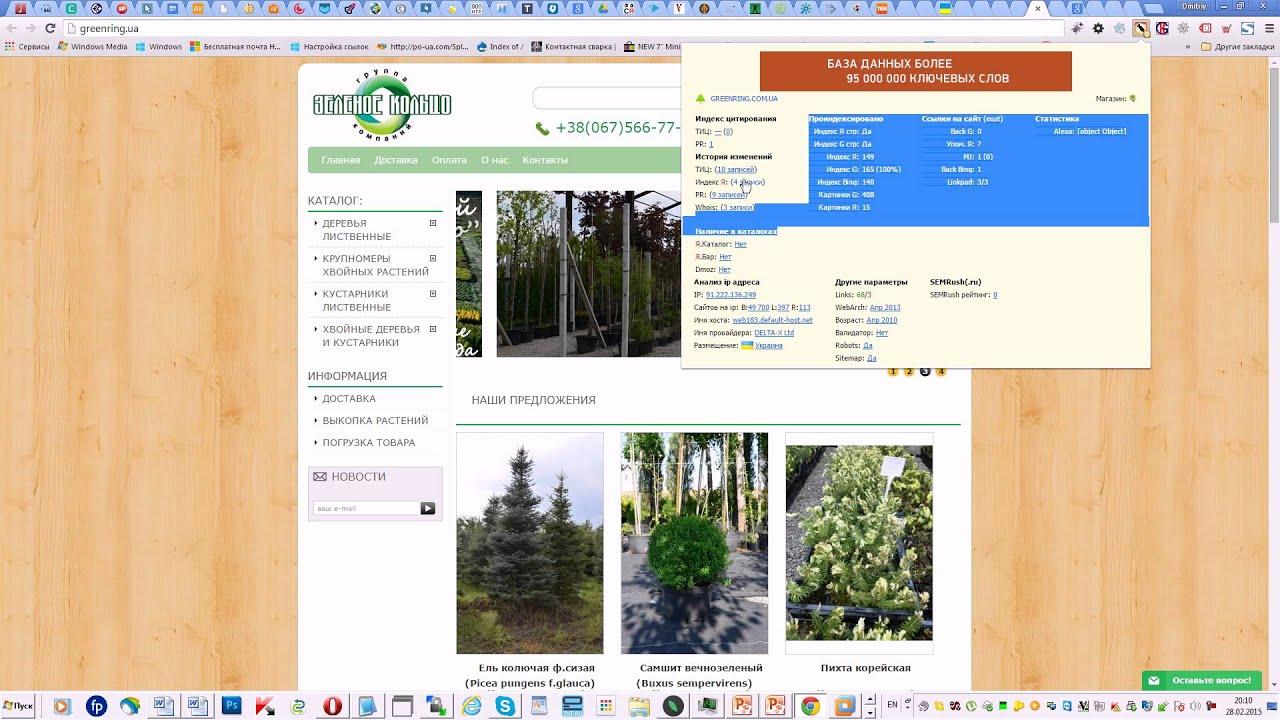 Видеоурок Быстрый анализ сайта Курс -оптимизации сайтов
