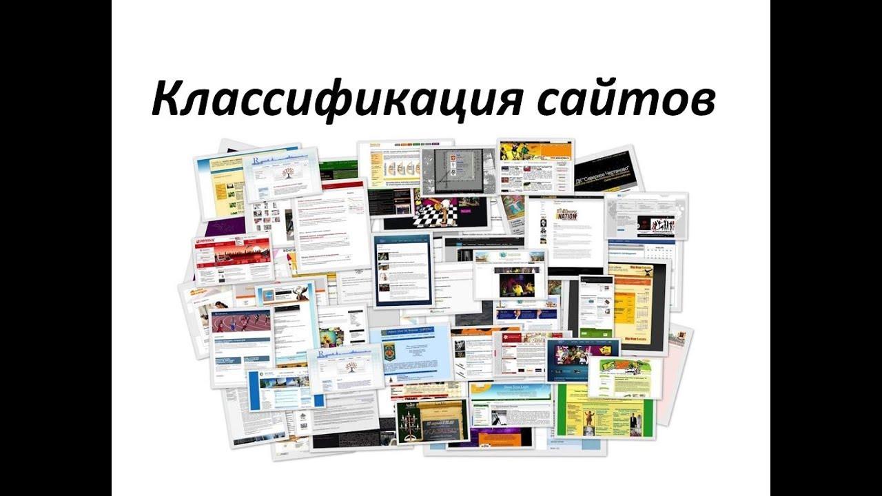 Какие бывают сайты