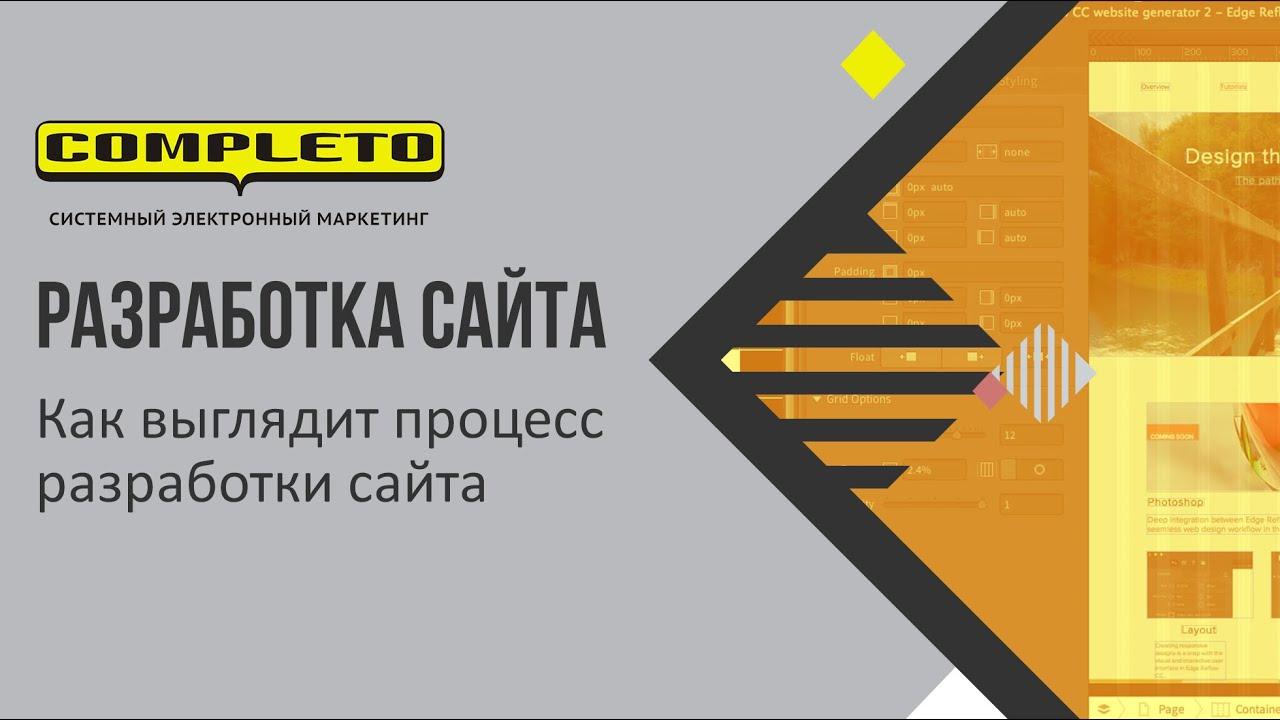 Как выглядит процесс разработки сайта со стороны клиента российской веб-студии и Комплето